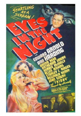 Eyes in the Night 1942 DVD - Edward Arnold